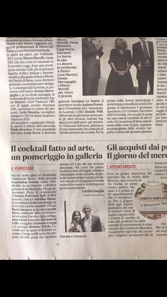 Il Messaggero -September 2017