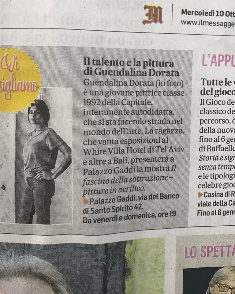 Il messaggero -October 2018